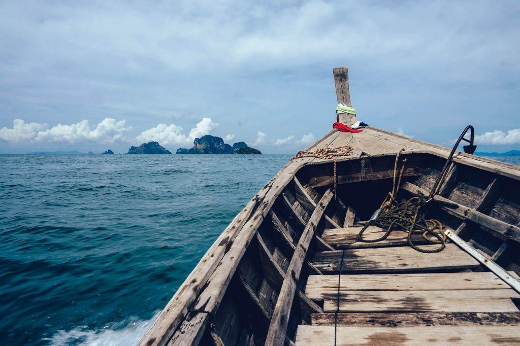 Balade en bateau