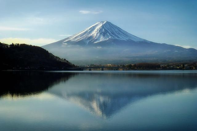 Mont Fuji au Japon et son Yoshida Trail