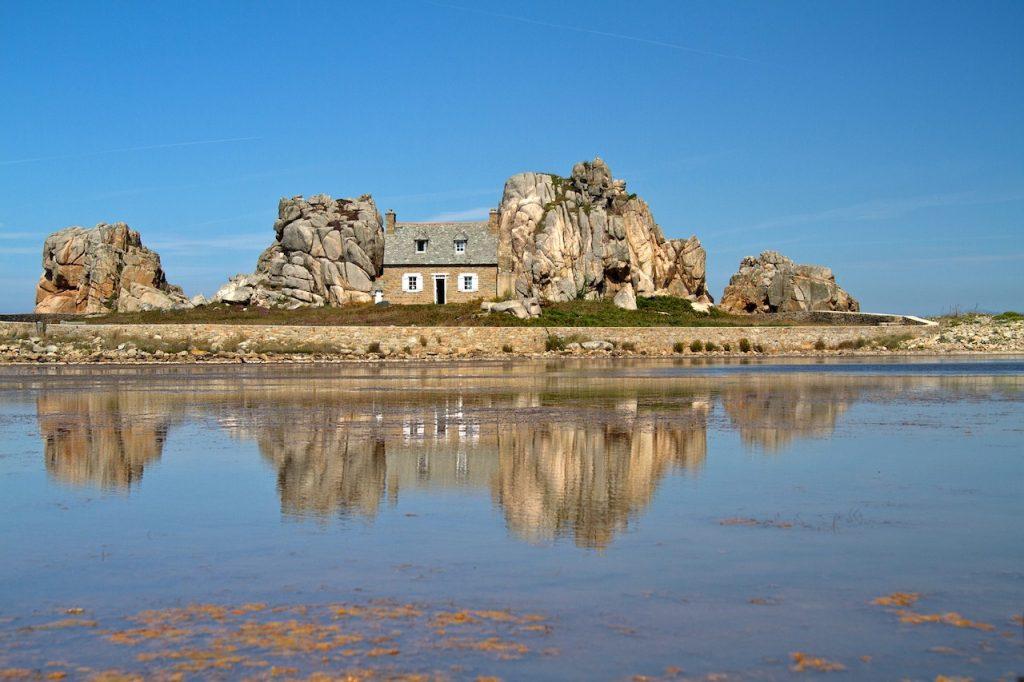 Bretagne sur la côte Atlantique