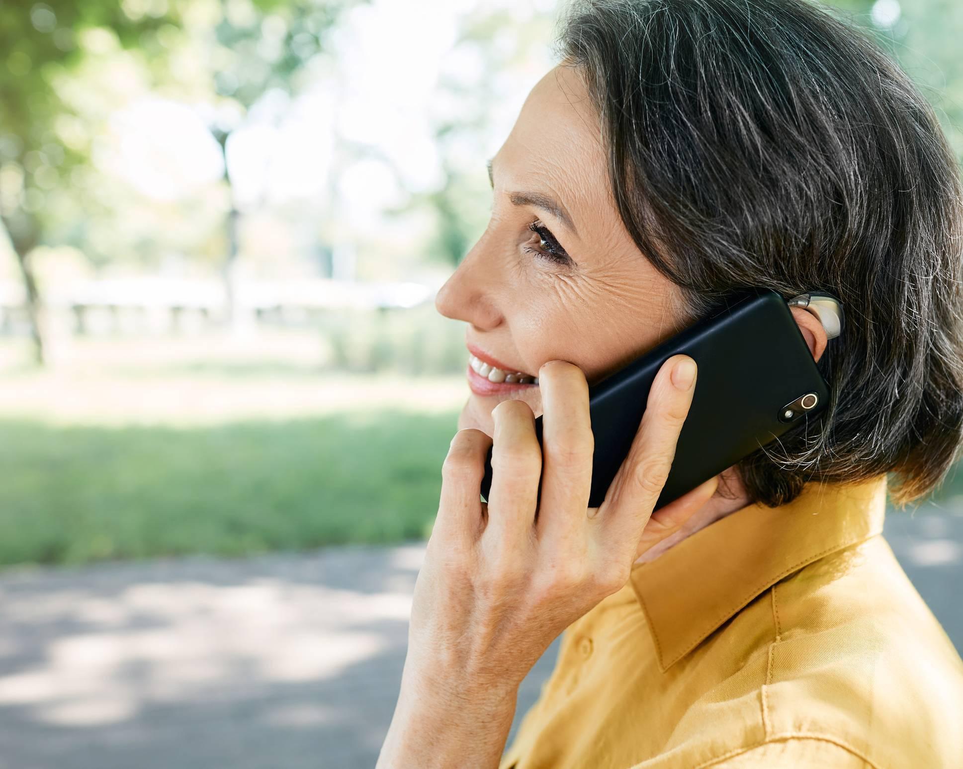 téléphone seniors handicap